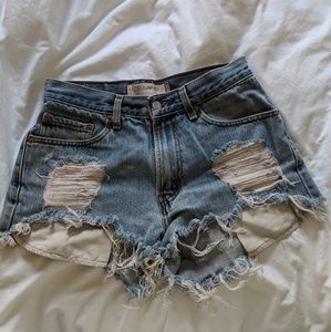 Levi's Shorts - 505 High-waisted Levis